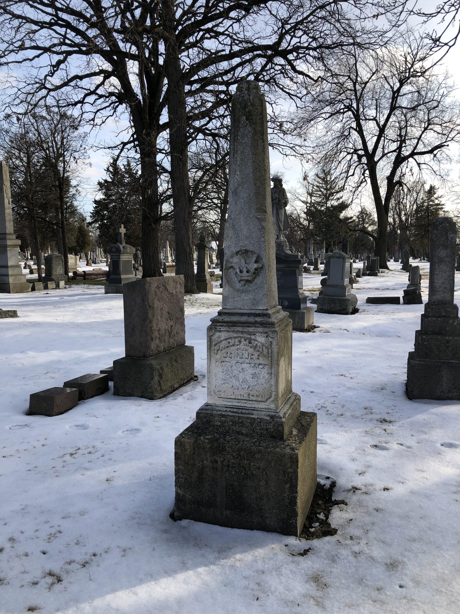 Von Schenck Headstone