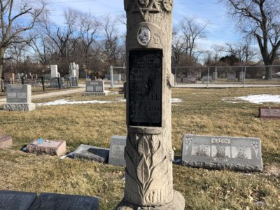 Rose Kadin Vertel Headstone