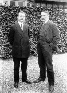 Paul Moreau-Vauthier (left)