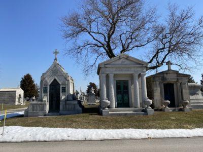 Piratzky and Stubbs Mausoleums